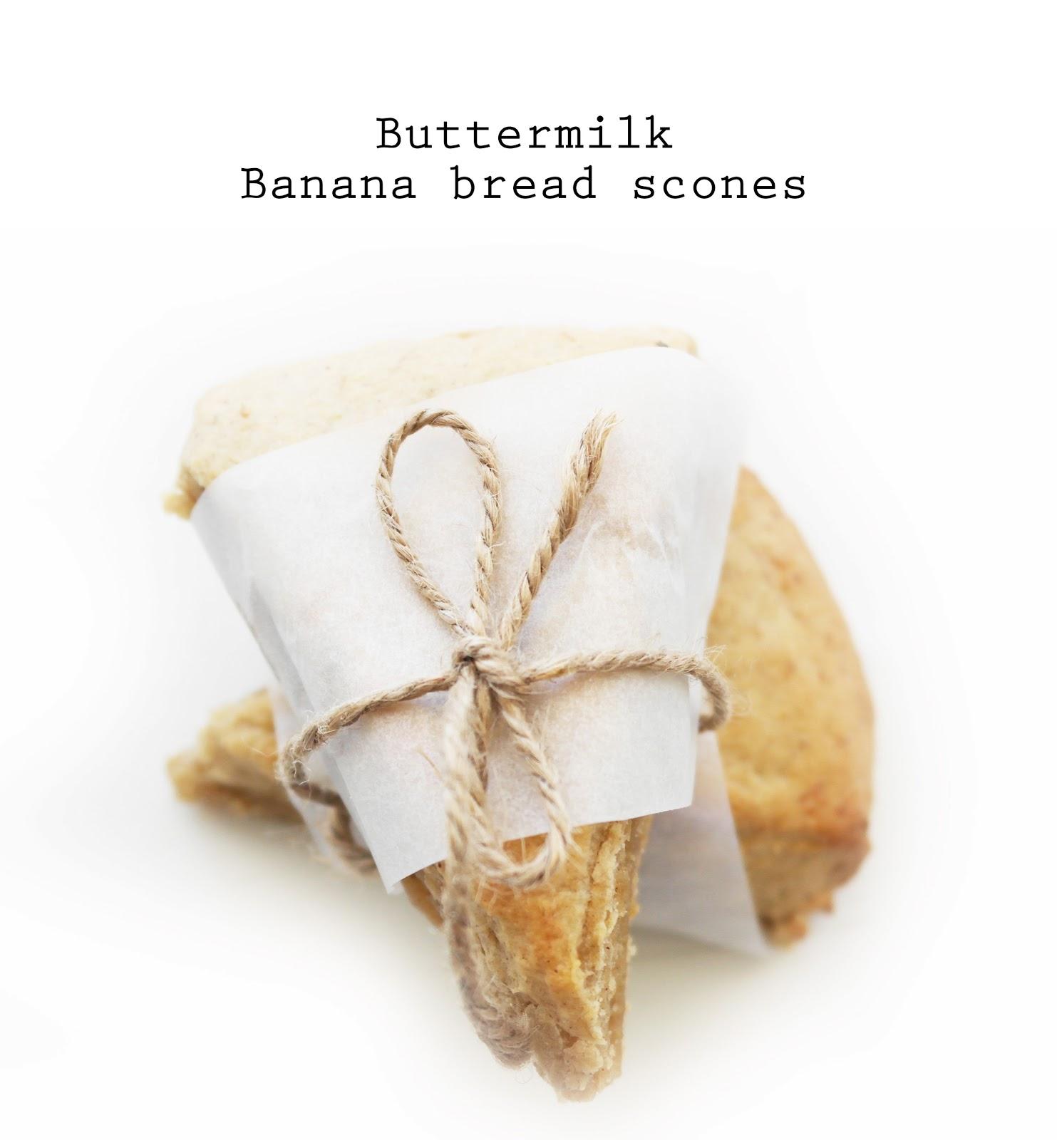 buttermilk banana bread scones | Scones | Pinterest
