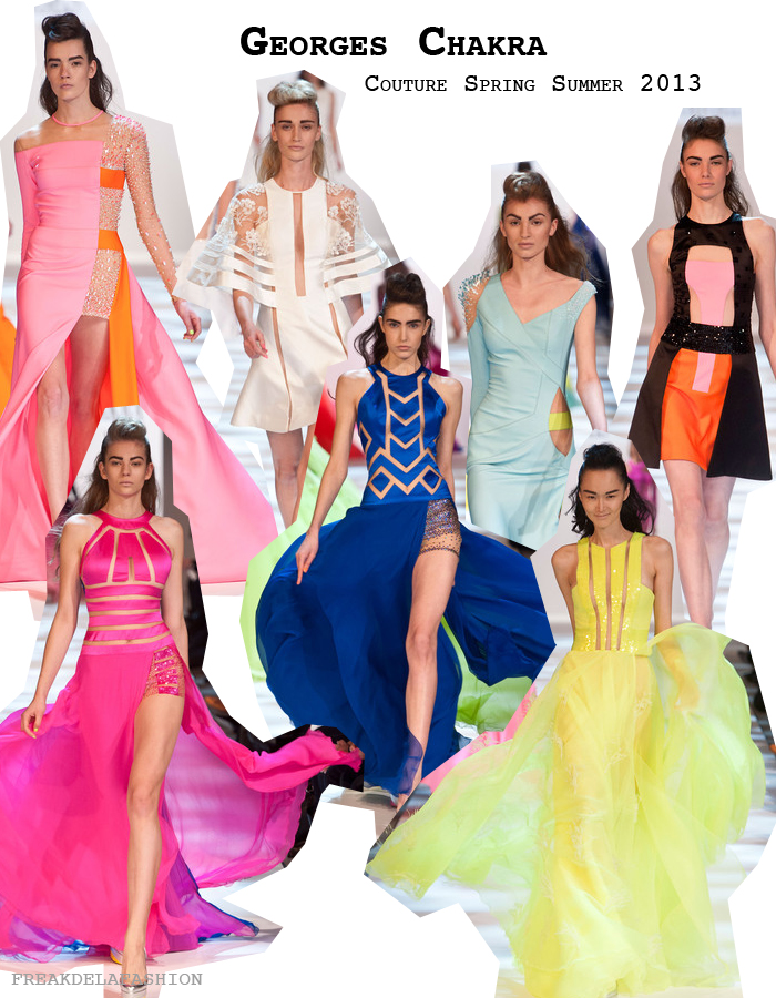 April Fashionreports   freakdelafashion   shoot   fashion    blogger   women   Georges Chakra Couture s/s 2013   haute couture   paris   paris fashion week   fashion week