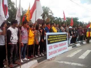 GPI usir Gema Pembebasan (foto Tribunnews)