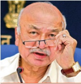 Union Home Minister, Mr Sushilkumar Shinde