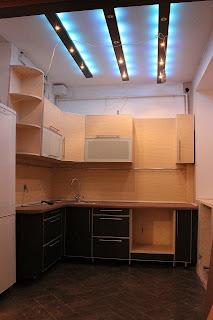 Фото собранной кухонной мебели