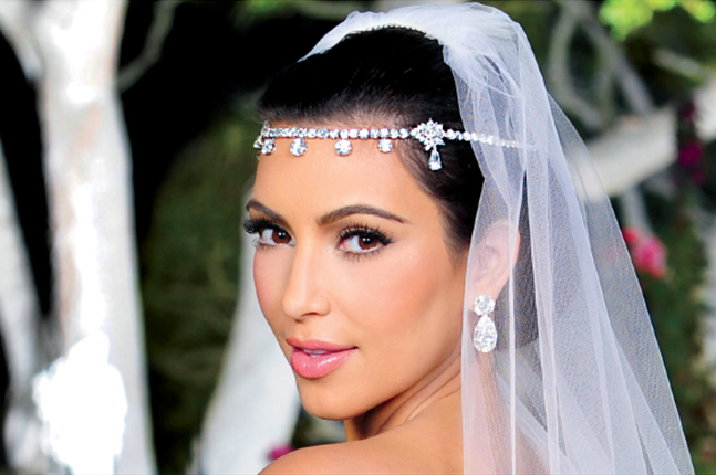 Kim Kardashian Wedding Makeup Dress Design By Vera
