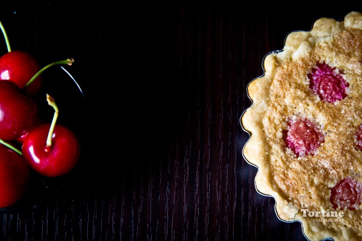 crostatine frangipane e ciliegie