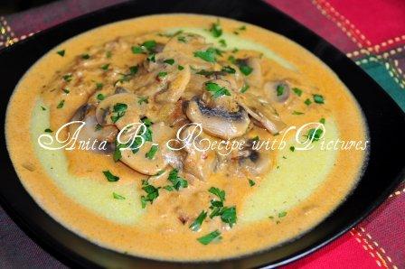 Mushroom Stew - Hungarian