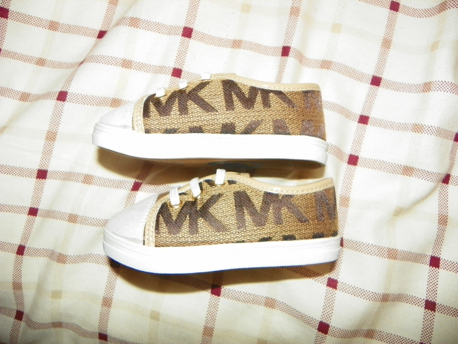 Michael Kors Infant Girls Monogram Sneakers & Giveaway The Review