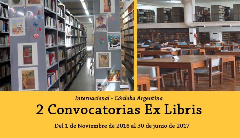 Convocatoria Internacional Ex Libris 2016