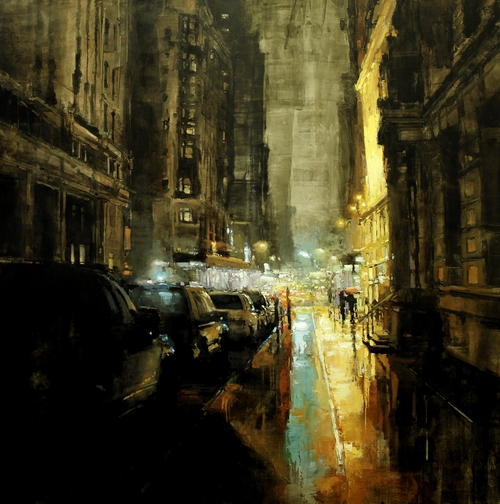 20-Back-Alleys-New-York-Jeremy-Mann-Figurative-Painting-in-Cityscapes-Oil-Paintings-www-designstack-co