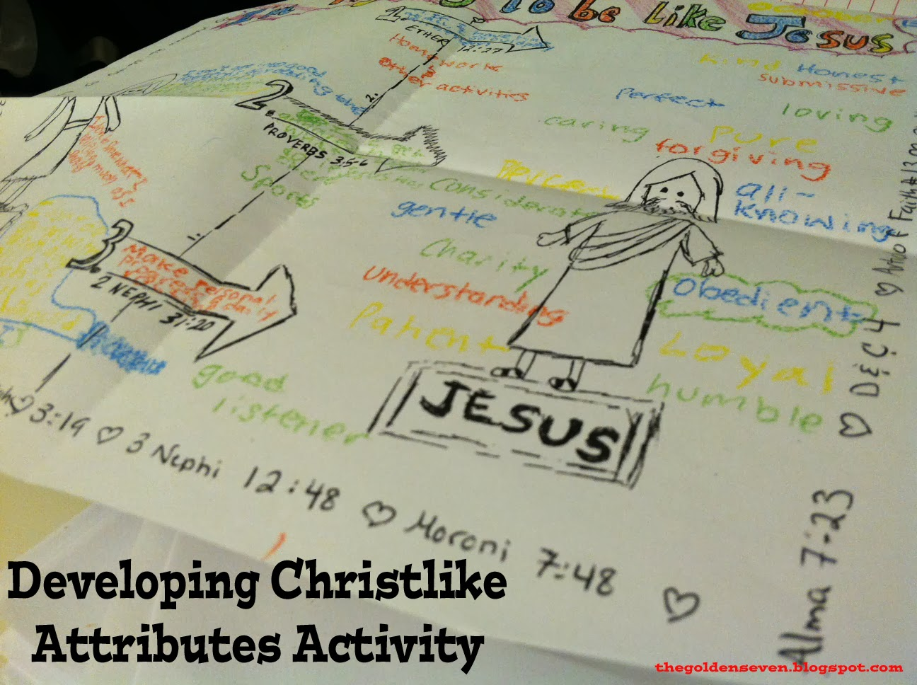 family home evenings and more developing christlike attributes