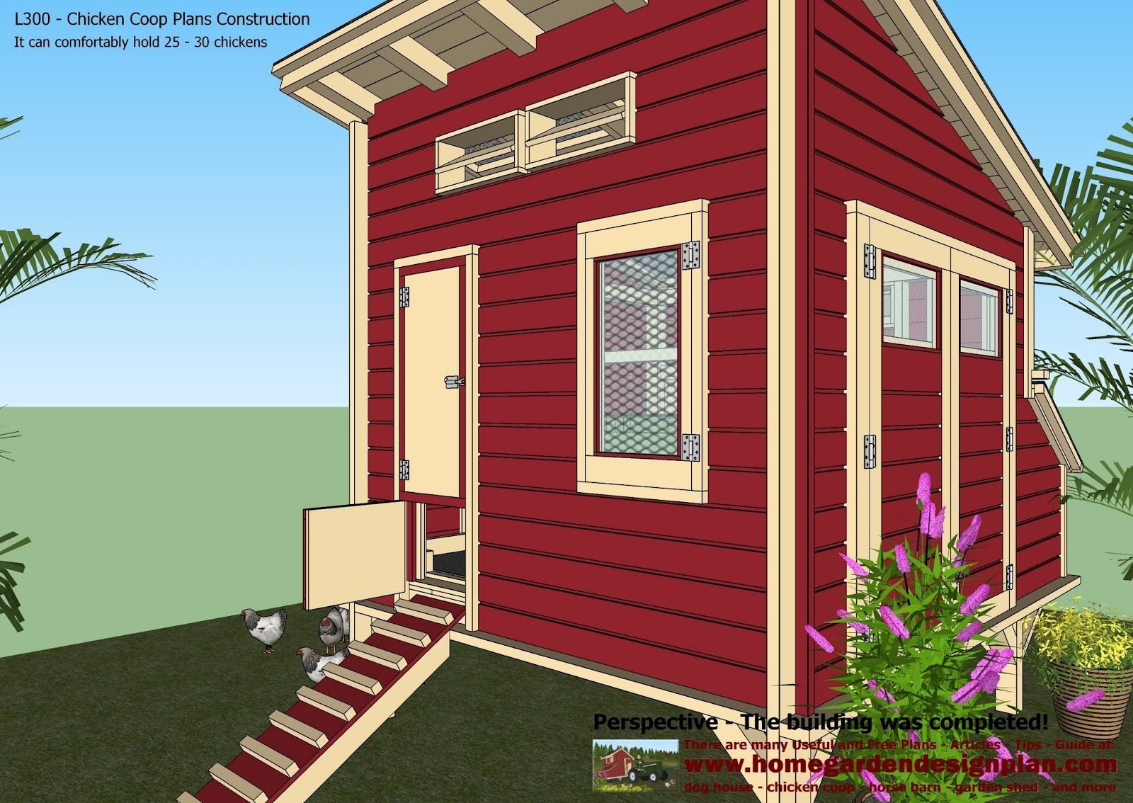 how to build a chicken coop on ontario
