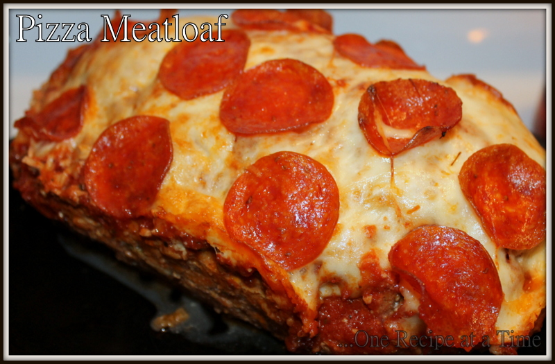 Learning the Ropes...One Recipe at a Time: Pizza Stuffed Meatloaf