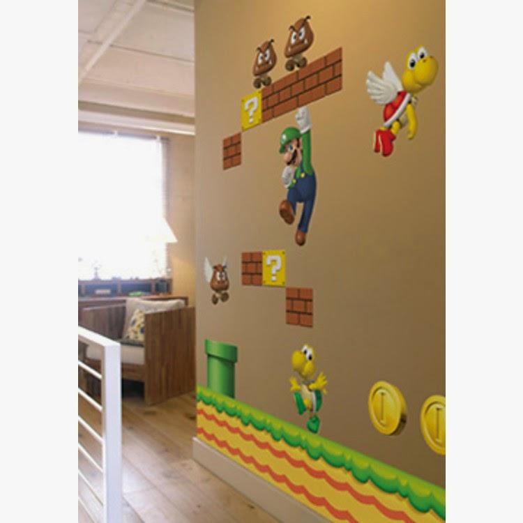 vinilos decorativos videojuegos, vinilos ochenteros, vinilos para chicos, vinilos infantiles