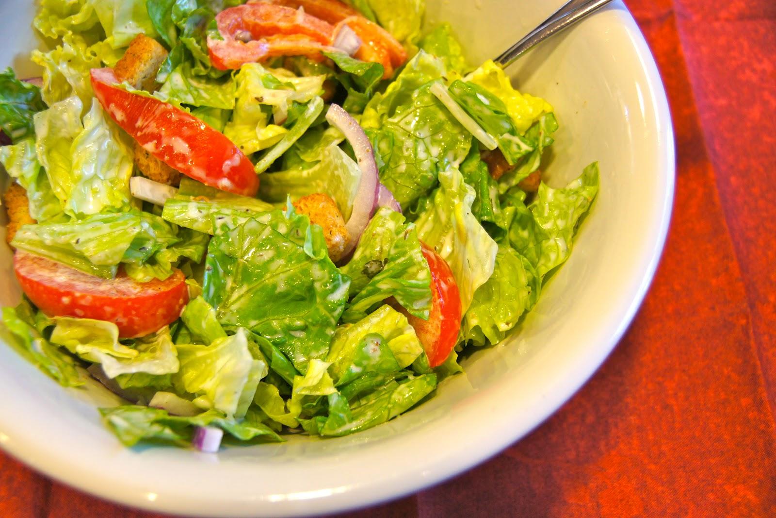 Family Food Finds Homemade Olive Garden Salad