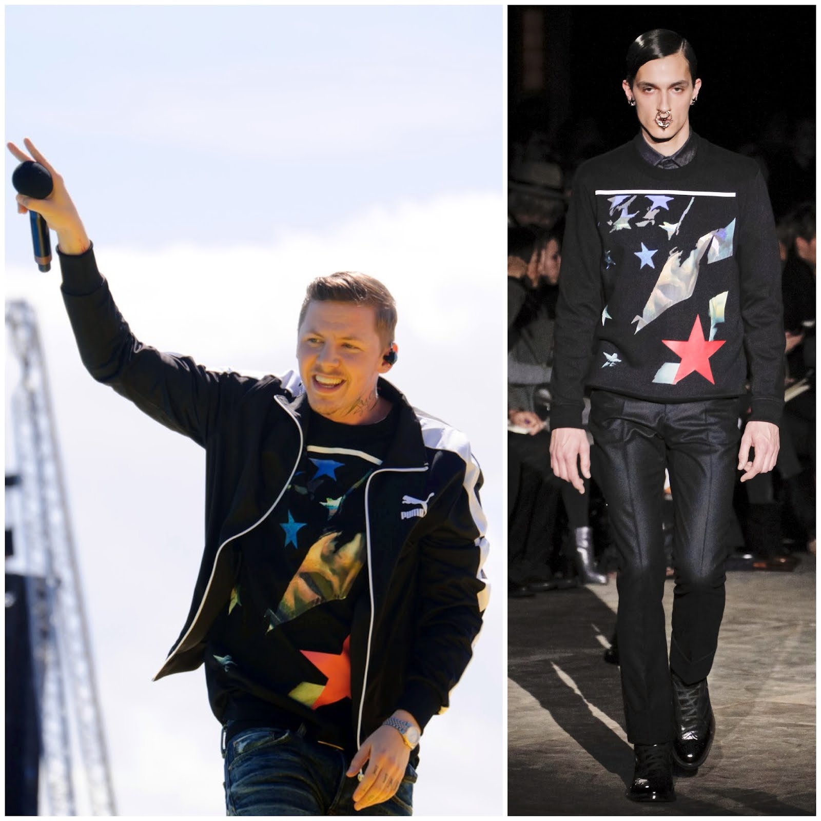 00o00 London Menswear Blogger Celebrity Style Professor Green T4 On The Beach Givenchy Luisa Via Roma