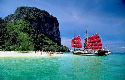 Пхукет пляжи, яхта