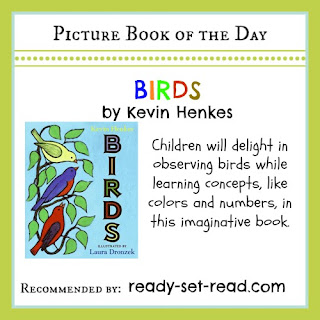 Kevin Henkes, birds, picture books, book activities