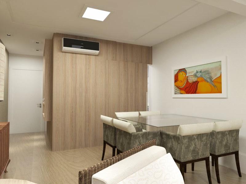 Tatiana mussi arquitetura e interiores apartamento sob for Paredes interiores revestidas