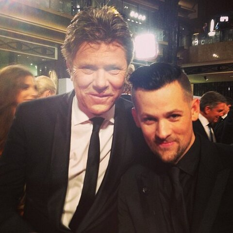 Today' Show's Richard Wilkins And Joel Madden From 'the Voice'