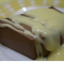 Resep Puding Coklat Saus Susu