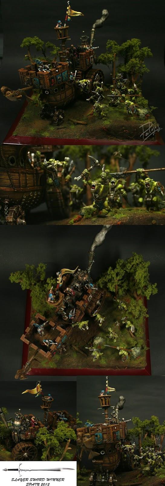 Games Day: Golden Demon de Oro para escena de batalla y además ganador de la Espada Matademonios