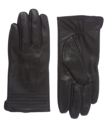Sainsburys TU Clothing Womens Black Leather Gloves