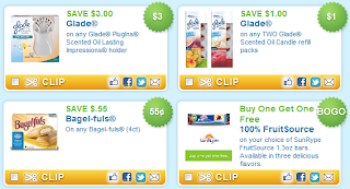 Land O Lakes, Glade, More coupons