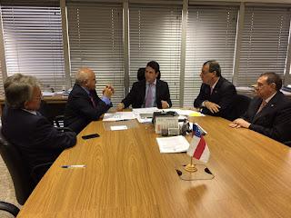 Em Brasília, Governador José Melo consegue recursos de R$ 185 milhões para obras dos anéis viários Sul e Leste
