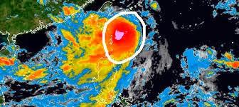 tormenta tropical Fung-wong en la zona norte de Filipinas