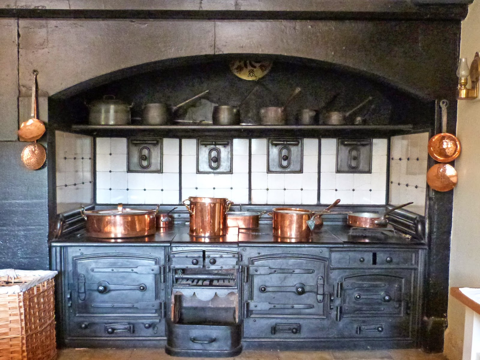 Amazing Wordless Wednesday 2014 #26   A Victorian Kitchen