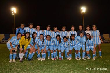 Racing fútbol femenino