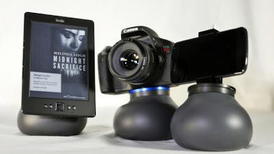 flex shot, gorillapod, trípode, stress ball, kickstarter,