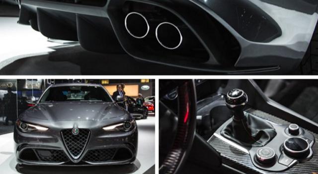 2017 Alfa Romeo Giulia Specs