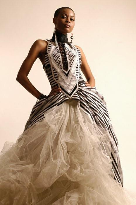amina design african print wedding dress With african print wedding dresses