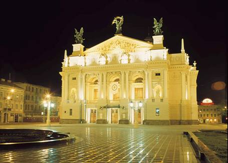 Львівський оперний театр lviv opera house