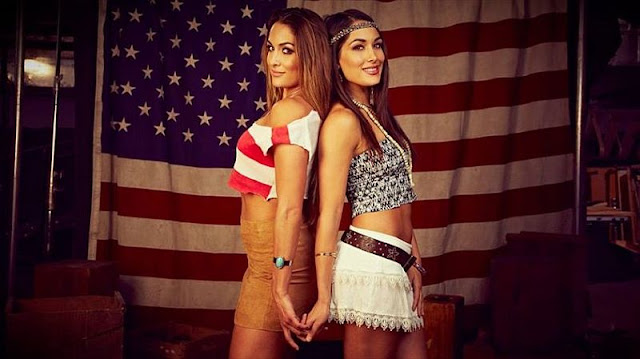 Happy Fourth of July from The Bella Twins