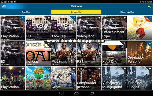 Lo ultimo en videojuegos con Appy Gamer para Android