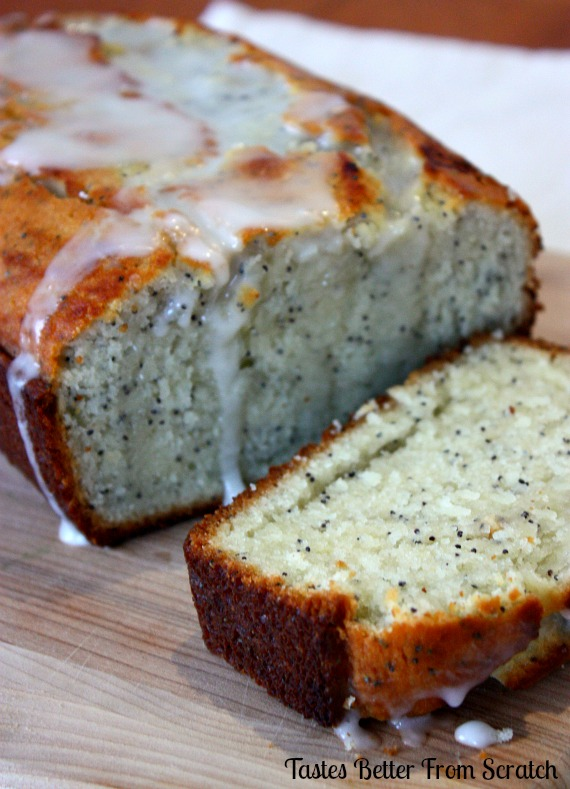 Lemon Poppy Seed Bread   Tastes Better From Scratch