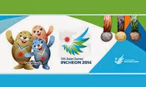 Jadual Atlet Malaysia Di Sukan Asia 2014