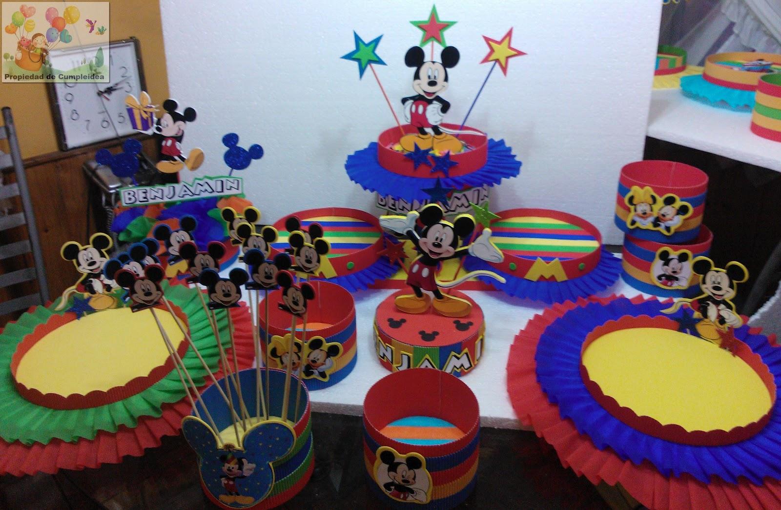 Mickey mouse decoraciones para fiestas - La casa sueca decoracion ...