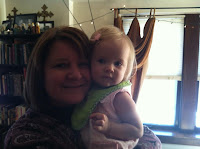 Grandma and baby Lily
