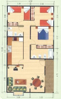 Planos de casas modelos y dise os de casas planos de Planos de casas para construir de una planta