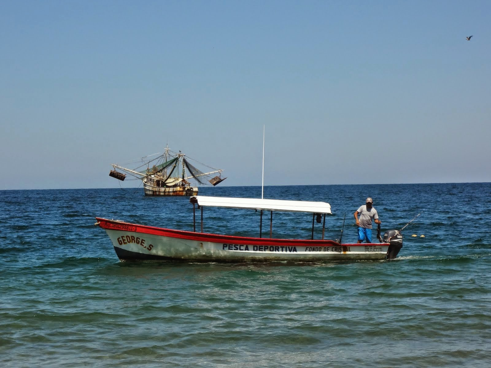 Fishing Boats in Playa Los Ayala