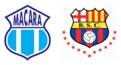 Macará vs Barcelona en VIVO 2013 - 12 de Mayo Copa Pilsener