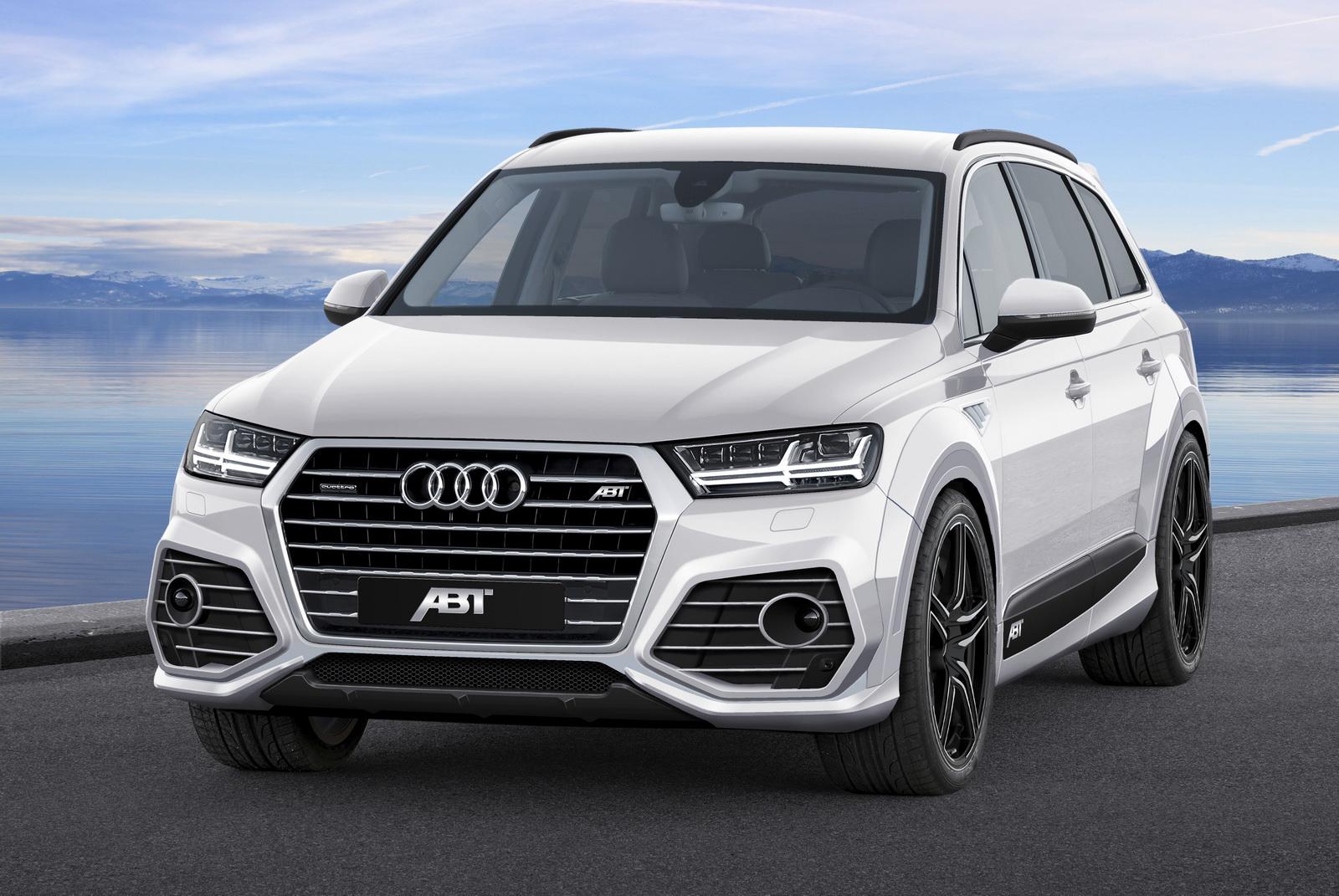 Abt Dresses Audi Q7 In Sportier Clothes Calls It The Qs7