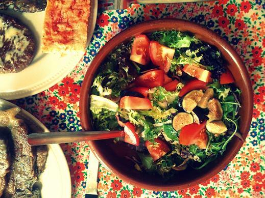 preciosa ensalada veraniega
