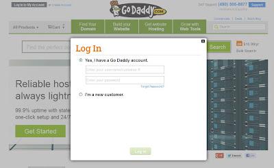 godaddy покупка и продление имени для сайта