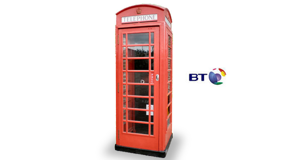 Refurbished Original Red Phone Box