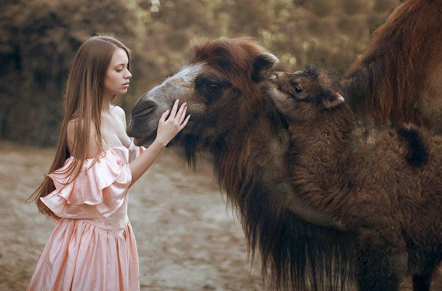 katerina plotnikova sesion de fotos profesionales con animales