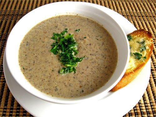 Mushroom Soup | Priya Rao's Recipes