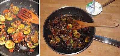 Schnelle Pilz-Gemüse-Pfanne