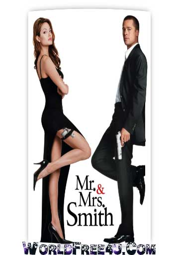 Movies Download Mr Mrs Smith 2005 Brrip 420p 300mb Dual Audio